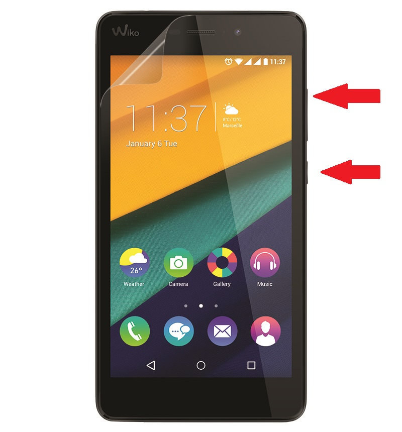 Reset Wiko Pulp Fab 4G
