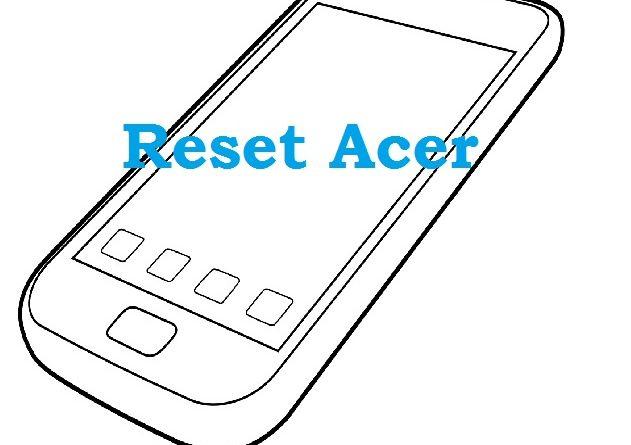Reset my acer