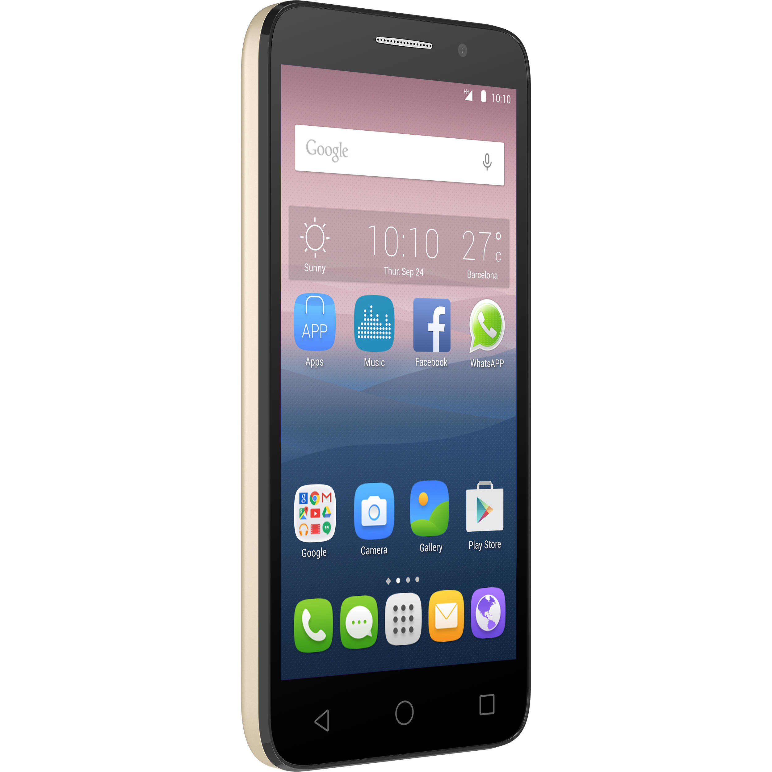 How to Reset Alcatel Pop 3 (5)