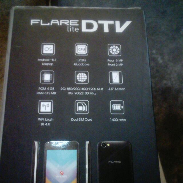 Cherry Mobile Flare Lite DTv
