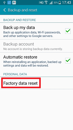 How to Hard Reset HTM H200