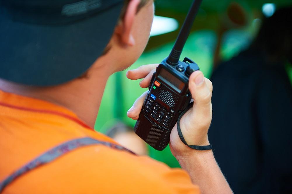 radio's range of communication